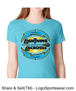 American Apparel Ladies Fine Jersey Short Sleeve Tee Design Zoom